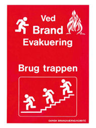1707A - ved brand/evakuering
